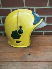 More details for cgf galley ~ raf fire fighters yellow helmet - with face visor