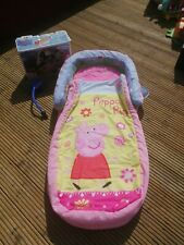 Peppa Pig My First Ready Bed All in one sleepover solution boxed
