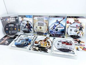 PS3 Sports Games Lot 8 Games Most Complete Great Condition