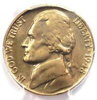 1948 Jefferson Nickel 5C Coin - PCGS MS66 FS - Rare MS66 Grade - $950 Value!