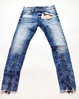 Men's 100% Authentic Royal 7even Jeans Size 34 Color Light Blue Skinny