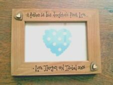 Wooden Rectangle Father Photo & Picture Frames