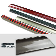 Painted Color #354 Titansilber Silver For BMW E46 2D Trunk Lip Spoiler
