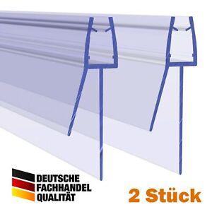 Duschdichtung PVC Ersatzdichtung Wasserabweiser Duschprofil VA006-28-17 2 Stück