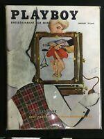 Playboy, magazine, Jan, 1956, Lynn Turner