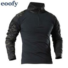 Male Military Uniform Tactical Long Sleeve T Shirt Men Camouflage Army Combat Sh