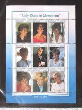 Princess Lady Diana In Memoriam Stamps - Republic Of Benin - 1998