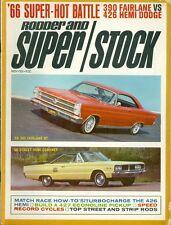 1966 Popular Customs Magazine: Top Ten Show Cars of 1966/Mustang/George Barris
