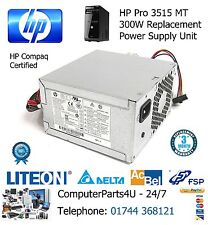Replacement For HP Pro 3515 MT MicroTower 300W Power Supply - 3 Months Warranty