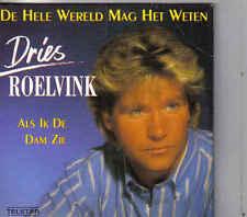 Dries Roelvink-De Hele Wereld Mag Het Weten cd single