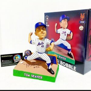 "TOM SEAVER New York Mets ""The Franchise"" Limited Edition MLB Bobblehead"