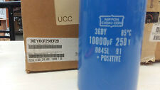 36DY103F250DF2B   NIPPON CAPACITOR ALUMINUM ELECTROLITIC  10000UF / 250V