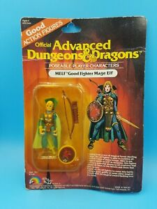 D&D Advanced Dungeons & Dragons Melf Good Fighter Mage by LJN TSR on card