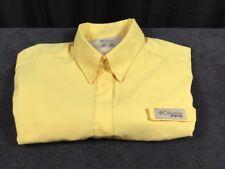Women's Columbia PFG Omni-Shade Polyester Short Sleeve PFG Fishing Size S