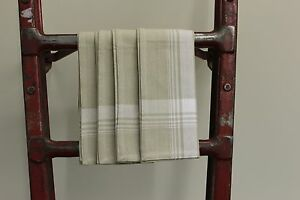 """The Country Plaid Collection 100% Woven Cotton Napkins - Set of 4 - 20"""" x 20"""""""