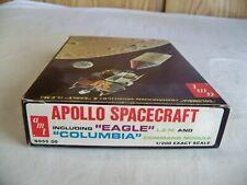 (D)Vintage 1969 Apollo Spacecraft Eagle, L.E.M. Amt Kit S955