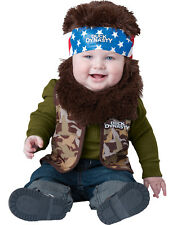 Duck Dynasty A&E Baby Infant Boys Willie Camo First Halloween Costumes M