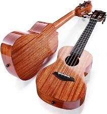 More details for lankro 23 inch solid mahogany ukulele concert for beginners pack