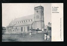 West Africa Sierra Leone FREETOWN St George Cathedral pre1919 PPC pub Lisk-Carew