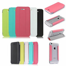 FLIP COVER FOR IPHONE 5C Baseus Ultra-thin design three folders stand