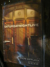 SATURDAY NIGHT LIVE EMMY DVD Host BEN AFFLECK Musical Guest NERD