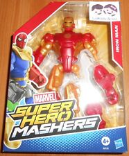 HASBRO MARVEL FIGURINE FIGURE IRON MAN SUPER HERO MASHERS réf BB120 NEUF