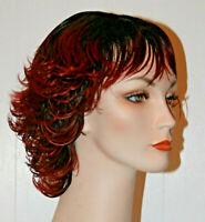 #305 Fashion Wig short hair stage acting theatrical costume LARP salon quality