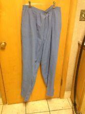 Cricket Lane Women's Elastic Waist Blue Pants Size 22W New