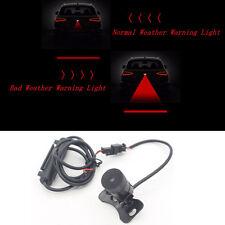 Set LED Car Warning Laser Tail Fog Light Brake Parking Lamp DC 12V