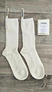 Socks JIL SANDER with grosgrain ribbon logo