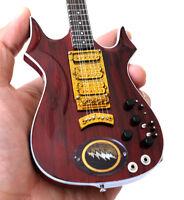 Miniature Guitar Jerry Garcia Grateful Dead Lightning Bolt Guitar Free Shipping