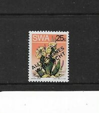 1973 South West Africa - 25c Succulent - With Overprint - Single Stamp - MNH.