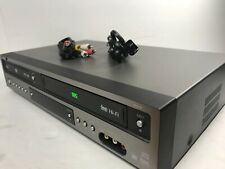 GoVideo DV2130 DVD Player VHS Combo VCR Go, w/RCA Cables, Tested, Free Shipping