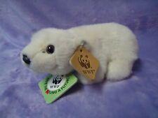 Anna Club Polar Bear 1986 WWF Soft Toy Plush With Original Booklet /Tags Vintage
