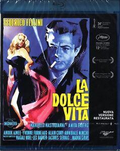 LA DOLCE VITA (1965 Federico Fellini) BLU RAY DISC NUOVO