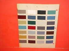 1954 CHEVROLET CORVETTE CADILLAC FORD LINCOLN OLDS PONTIAC INTERIOR PAINT CHIPS
