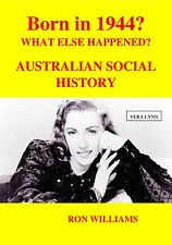 BORN IN 1944?....Birthday Book....Australian Social History...Oz Year-Book 1944