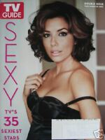 EVA LONGORIA TV'S SEXIEST STARS 3/09 TV GUIDE Magazine