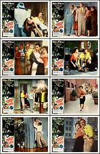 TARGET EARTH  RICHARD DENNING COMPLETE SET OF 8 DIFFERENT 11x14 LC PRINTS 1954