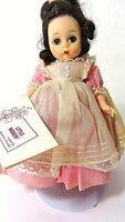 "Vintage 1957 Madame Alexander-Kins 8"" Doll BETH Little Women 1950s Wrist Tag"