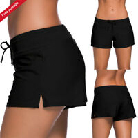 US Women Bikini Swim Pants Shorts Bottom Swimwear Sport Yoga Beach Swimsuit