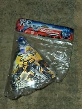TRANSFORMERS Forty party hats - five sealed packs of eight original packaging!!!