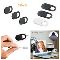 3pcs Shutter Cover Plastic Camera Cover for Web Cam PC Laptops Cell Phone Lens