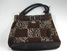 Dolce & Gabbana Brown Leopard Handbag Purse