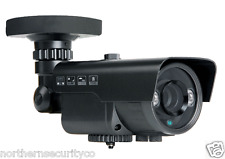 Sony IMX 2MP 1080P 2.8-12MM 40M IR HD-TVI TURBO FULL BLACK OUTDOOR CAMERA CCTV