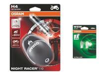 H4 12V 60/55W Night Racer 110 bis 110% 2St OSRAM + W5W UltraLife OSRAM