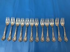 Gorham Sterling Silver Versailles Fish Forks Complete Set For 12 Fullmarked