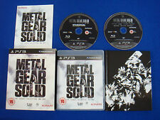 ps3 METAL GEAR SOLID The Legacy Collection + ARTBOOK - REGION FREE - 10 MGS In 1