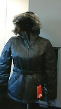 Women's The North Face Greenland Jacket Shiny TNF Black Size Small (2A-2)