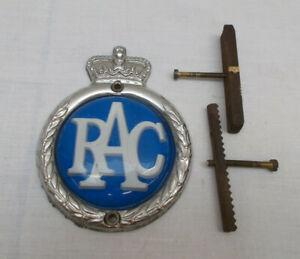 Vintage RAC Car Badge
